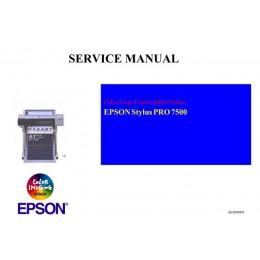 EPSON StylusPro 7500 Service Manual