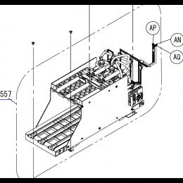 EPSON F2100/F2150/F2170 INK HOLDER ASSY (LEFT) - 1748915