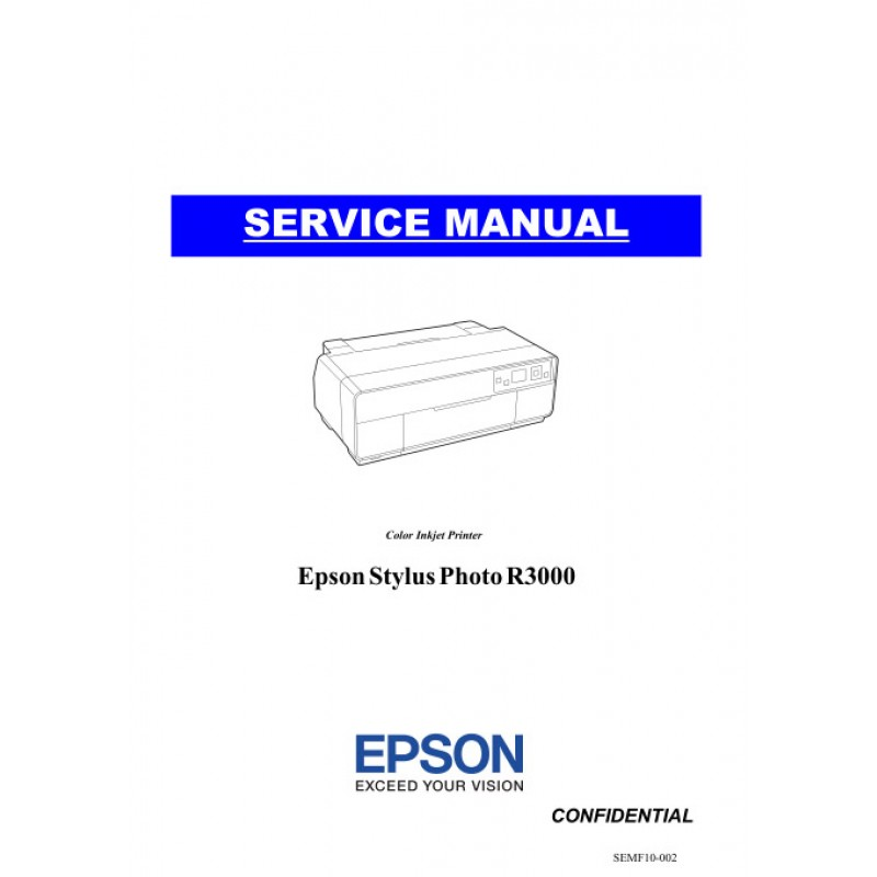 epson stylus photo r3000 service manual rh sdott parts com epson r3000 instruction manual Epson R300