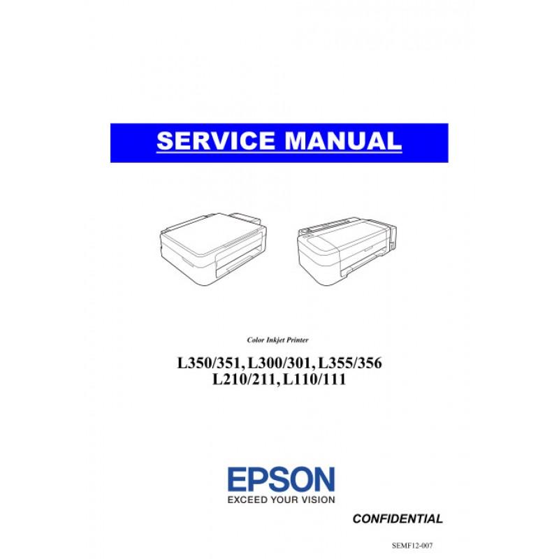Инструкция принтер эпсон л355.