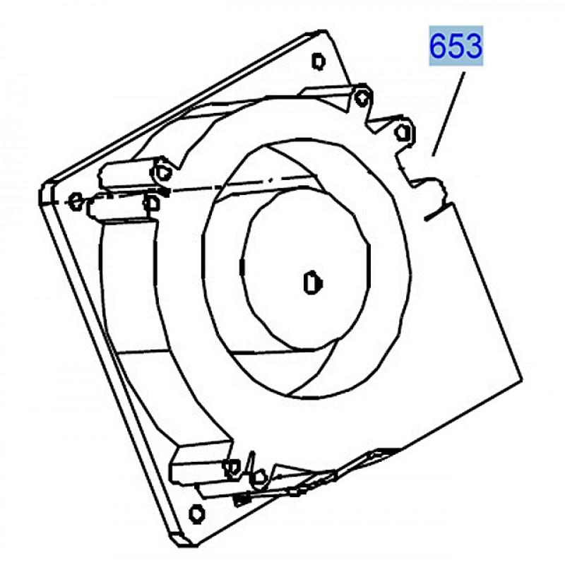 Epson Pro 788074509880 945011880 Vacuum Fan