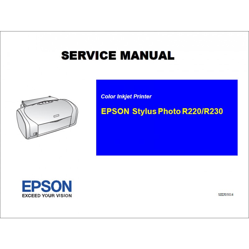 epson r220 r230 service manual rh sdott parts com Epson R2000 epson stylus photo r200 manuale italiano