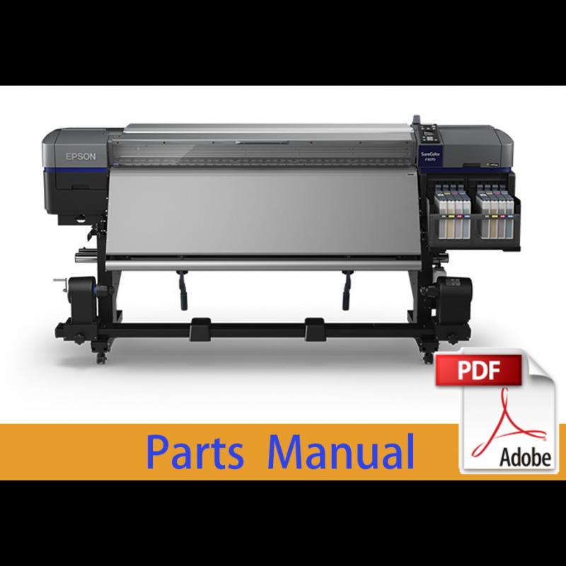 EPSON SureColor F9300 F9330 F9340 F9350 F9360 F9370 Parts Manual