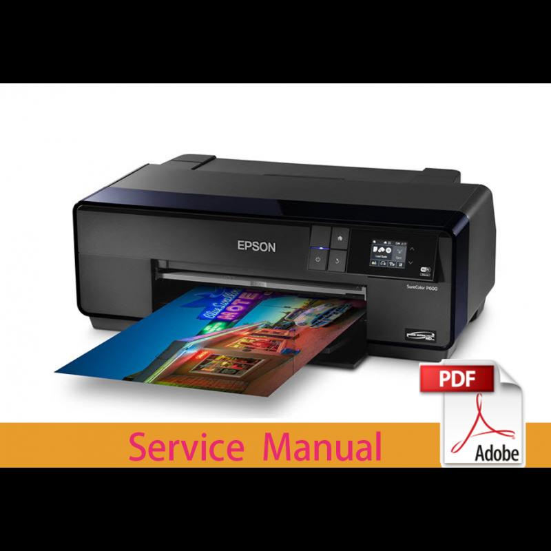 EPSON SureColor P600 P607 P608 Service Manual