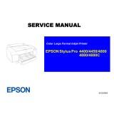 Epson Stylus Pro 4400 4450 4800 4880 4880C Service Manual