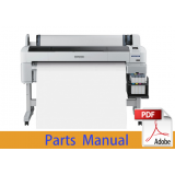 EPSON SureColor B6000 B6070 Parts Manual