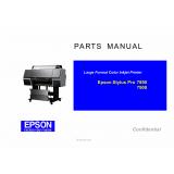 EPSON Stylus Pro 7890 7908 Parts Manual