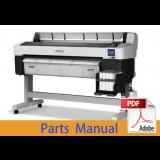 EPSON SureColor F6200 F6270 Parts Manual