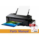 EPSON L1800 Parts Manual