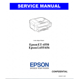 EPSON L655/L656/ET-4550 Service Manual