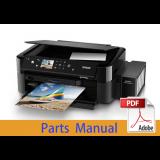 EPSON L800/L801 Parts Manual