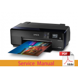 EPSON SureColor P600 P607 P608 Service Manual