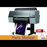 EPSON SureColor P7000 P7050 P7070 Parts Manual