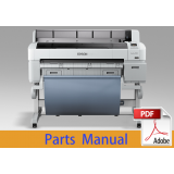 EPSON SureColor T5000 T5050 T5070 Parts Manual
