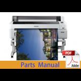 EPSON SureColor T7200 T7250 T7270 T7280 Parts Manual