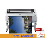 EPSON SureColor T5200 T5250 T5270 T5280 Parts Manual