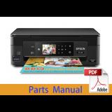 EPSON XP-412/XP-413/XP-415 Parts Manual