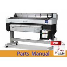 EPSON SureColor F6200 F6270 Parts Manual