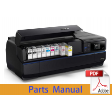 EPSON SureColor P800 P807 P808 Parts Manual