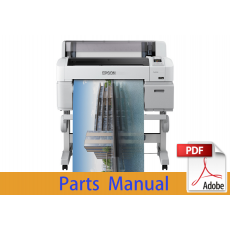 EPSON SureColor T3200 T3250 T3270 Parts Manual