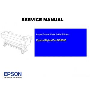 EPSON Pro GS6000 Service Manual