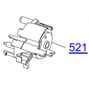 EPSON L100/L200/STYLUS S22/SX130  HOUSING PUMP  - 1529029