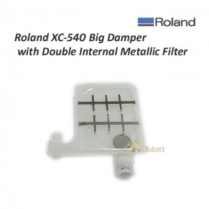 Roland XC-540 Big Damper with Double Internal Metallic Filter
