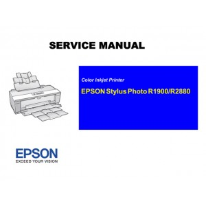 EPSON Stylus Photo R1900/R2880 Service Manual