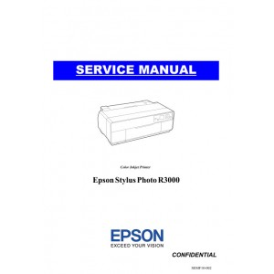 Epson Stylus Photo R3000 Service Manual
