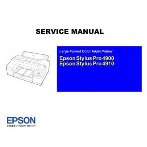 EPSON Stylus Pro 4900 4910 Service Manual