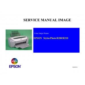 EPSON R200_R210 Service Manual