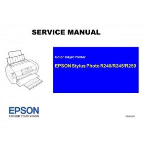 EPSON R240_R245_R250 Service Manual