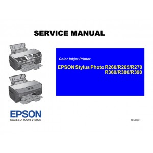 EPSON R260_R265_R270 R360_R380_R390 Service Manual