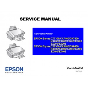 EPSON CX7300_CX8300_CX8400 TX200_TX400 Service Manual