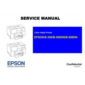 EPSON C120 C110 D120 T30 T33 B30 Service Manual
