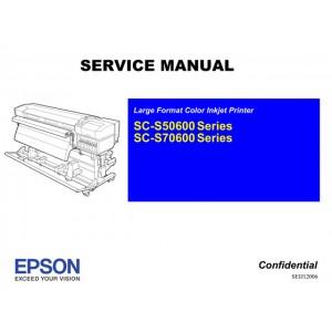 EPSON SureColor S50600 S50610 S50670 S70600 S70670 Service Manual
