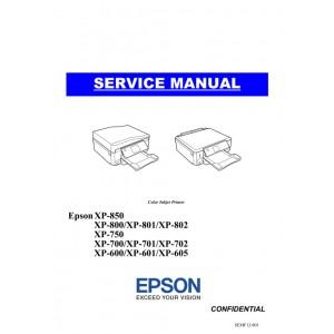 EPSON XP600_601_605 XP700_701_702_750 XP800_801_802_850 Service Manual