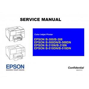 EPSON B310N_B318N B510DN_B518DN Service Manual
