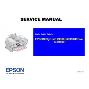 EPSON DX9400F CX9300F CX9400Fax Service Manual