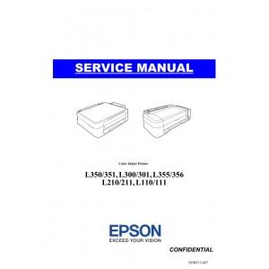EPSON L130 L132 L220 L222 L310 L312 L313 L360 L362 L363 L365 L366 Service Manual