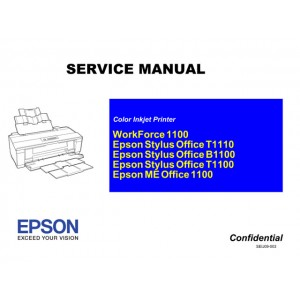 EPSON Stylus Office T1110 B1100 T1100 Service Manual