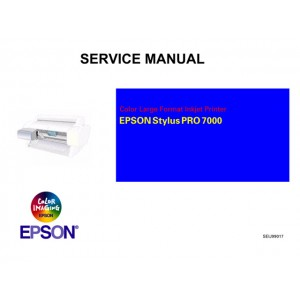 EPSON StylusPro 7000 Service Manual