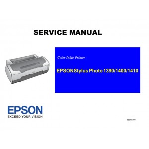 EPSON StylusPhoto 1390 1400 1410 Service Manual