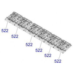 EPSON R1900/R2880 PAPER GUIDE UPPER ASSY - 1486634