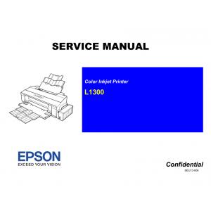 EPSON L1300 Service Manual