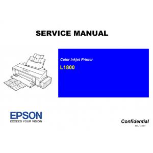 EPSON L1800 Service Manual