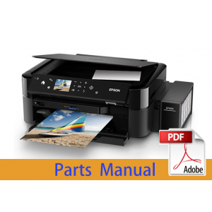 EPSON Stylus Office T1110 B1100 T1100 Parts Manual
