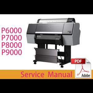 EPSON SureColor P6000 P6070 P7000 P7070 P8000 P8070 P9000 P9070 Service Manual