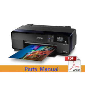 EPSON SureColor P600 P607 P608 Parts Manual