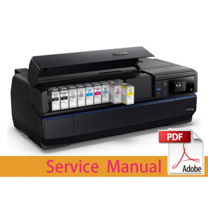 EPSON SureColor P800 P807 P808 Service Manual